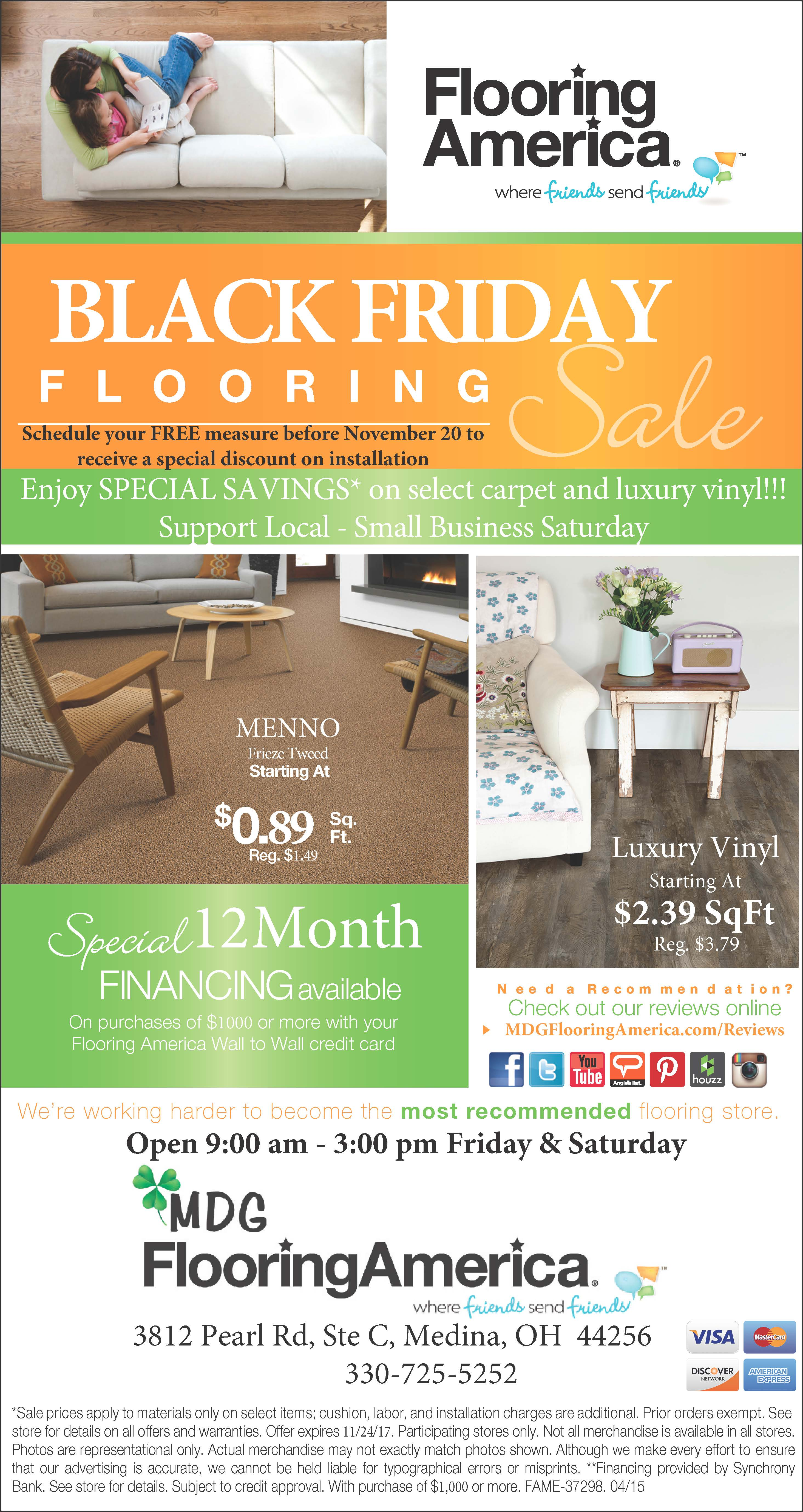 Black Friday Flooring Sale!